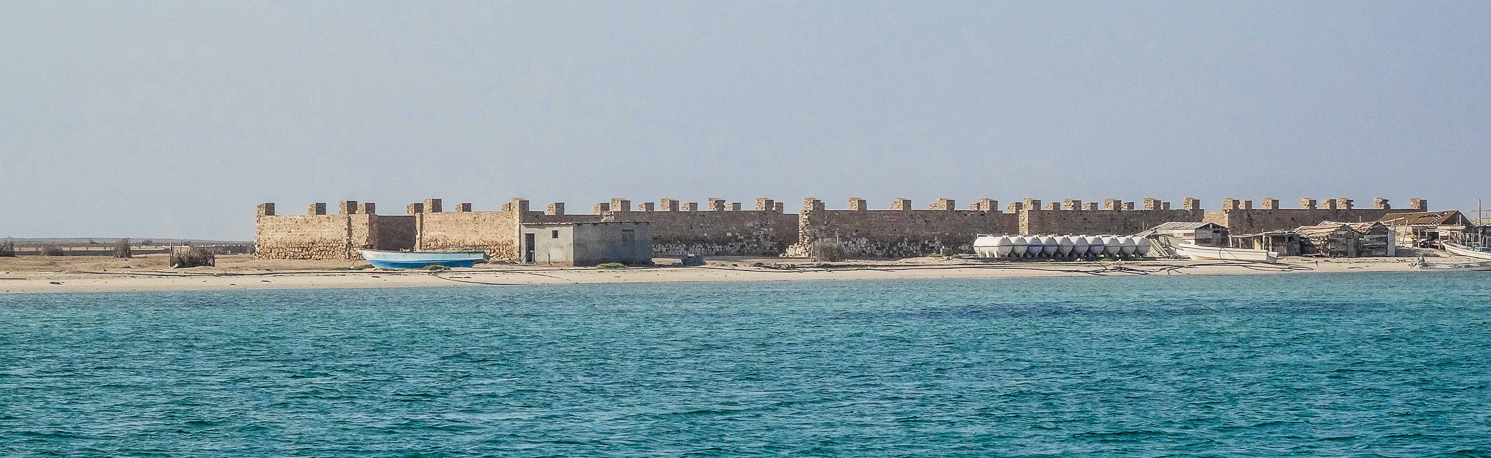 German Fort built during World War 2 in Farasan Archipelago (photo: Florent Egal)