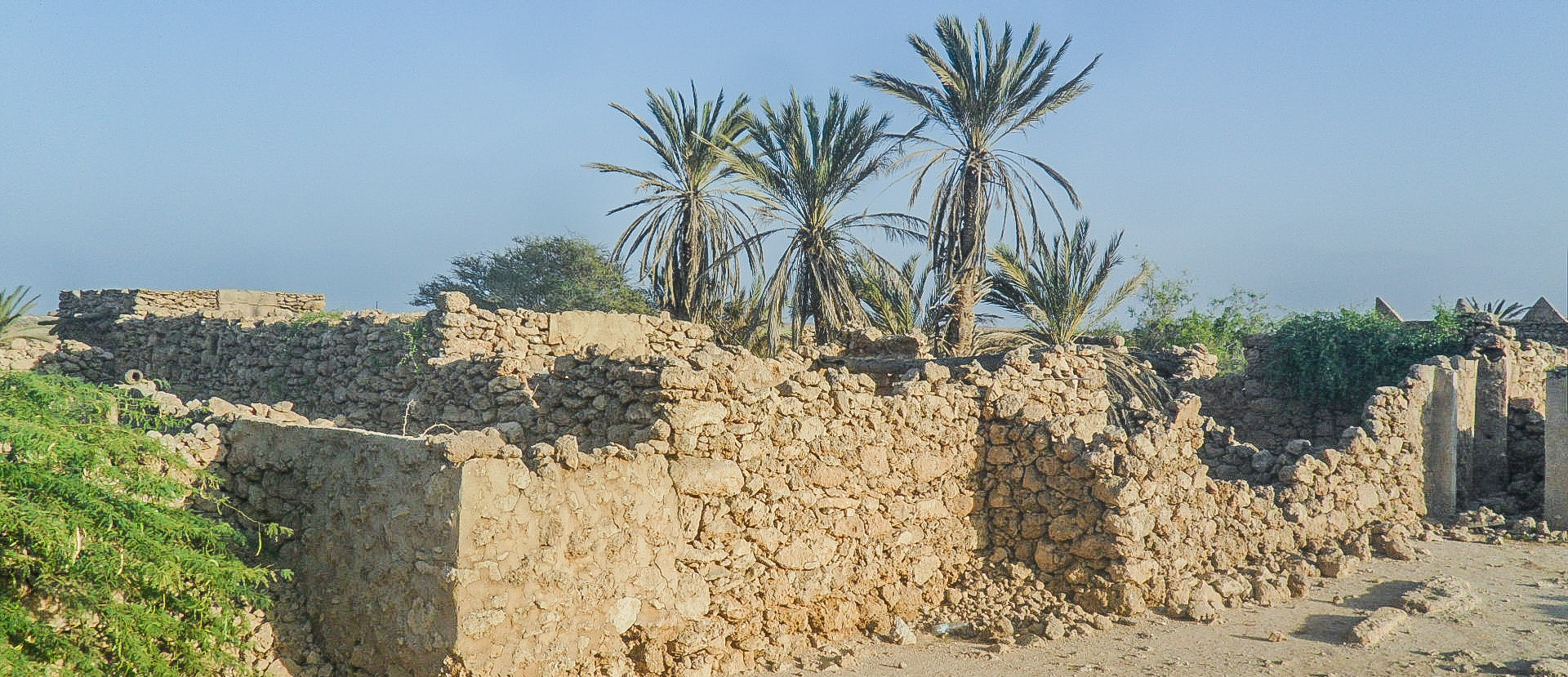 Al-Qassar village in Farasan Al-Kebir (photo: Florent Egal)