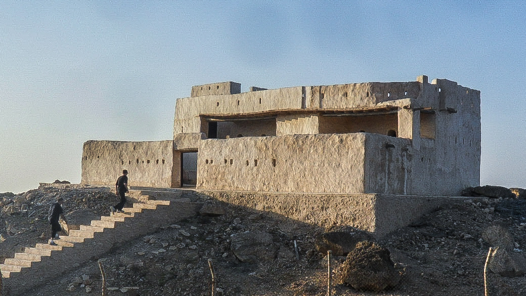 Turkish Fort in Farasan Al-Kebir (photo: Florent Egal)