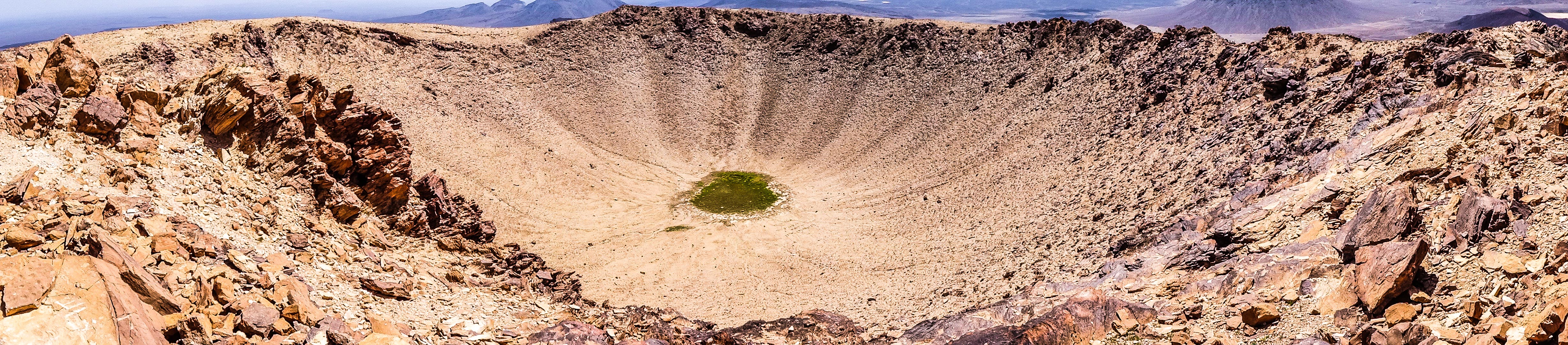 Crater of Jebel Abiadh (photo: Florent Egal)