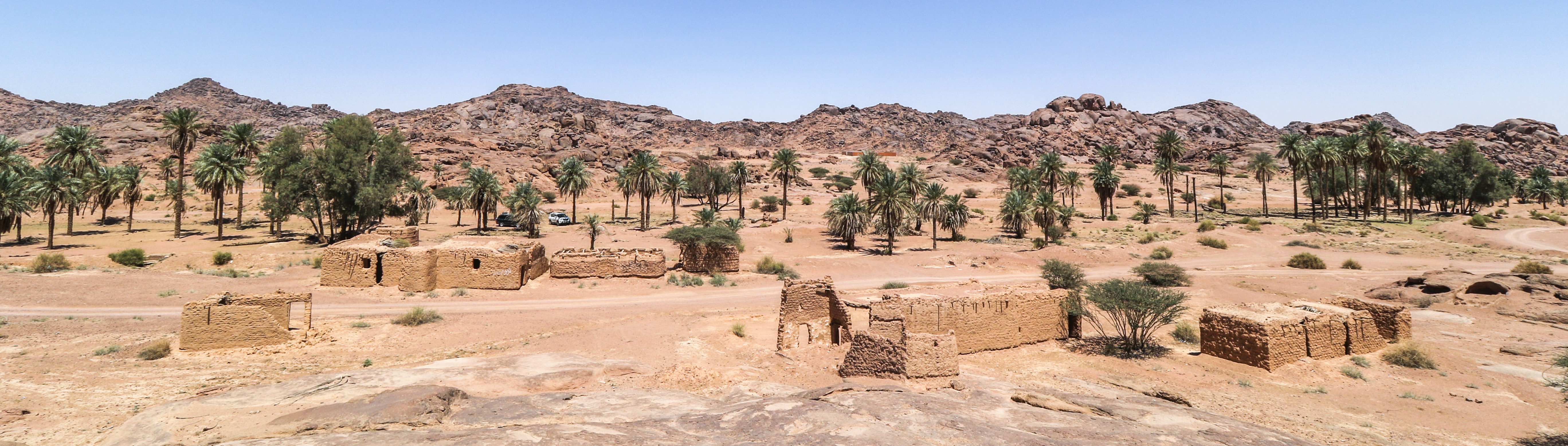 Traditional village at Jabal Aban Al-Asmar (photo: Florent Egal)