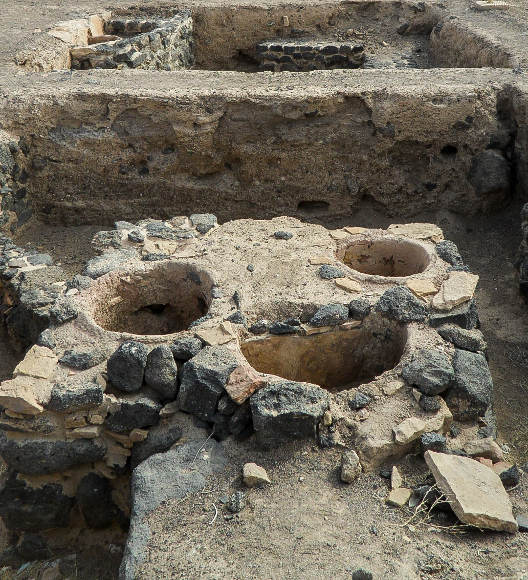 Old ovens of Fayd (photo: F. Egal)